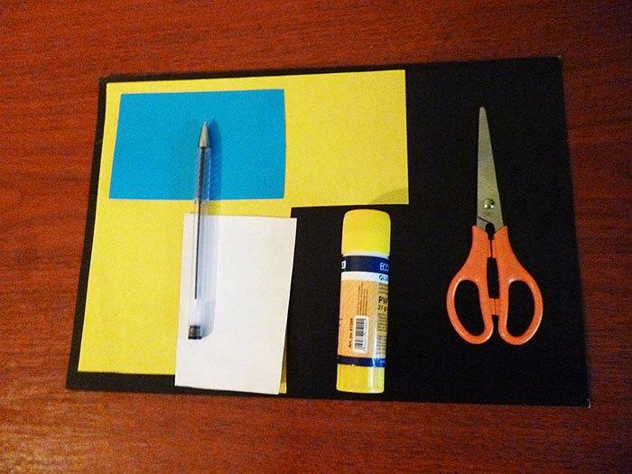 Як зробити міньйона своїми руками з паперу, фото 1