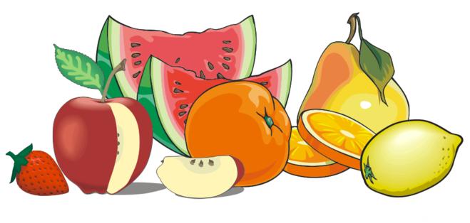 Рисуем апельсин с дольками