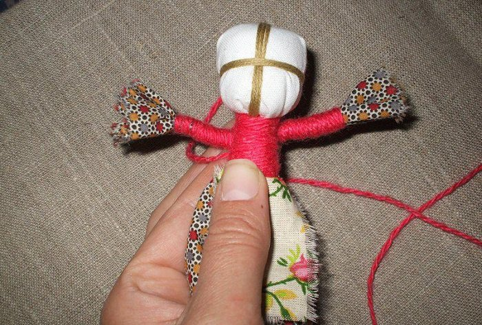 Кукла мотанка своими руками фото 9