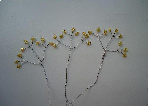 Розы из бисера, схемы. Мастер-класс, фото 5
