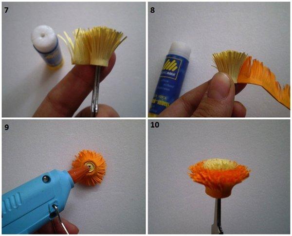 Створюємо квіти з квілінгу фото 3