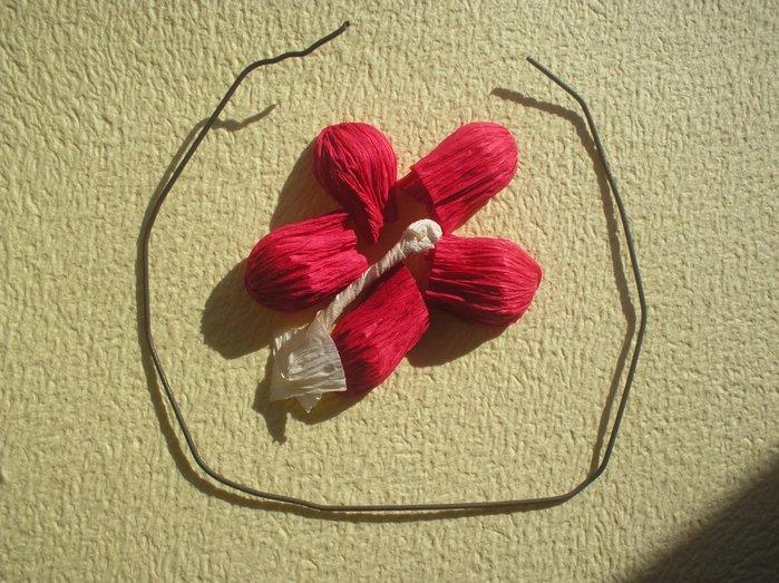 Букет квітів з гофрованого паперу своїми руками - фото 11