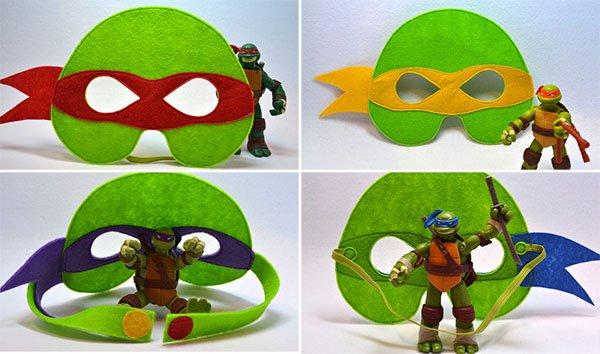 Как сделать маску черепашки-ниндзя, фото 8