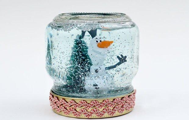 Снежный шар своими руками, фото 13