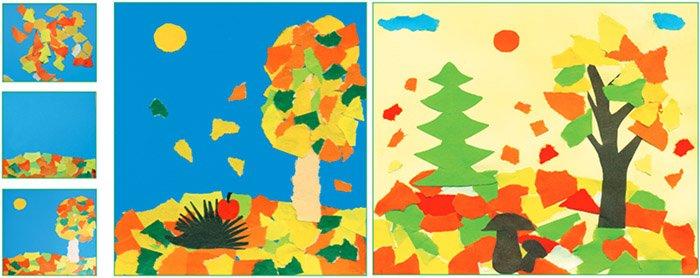 Вытинанки - изготовление открытки своими руками, фото 3