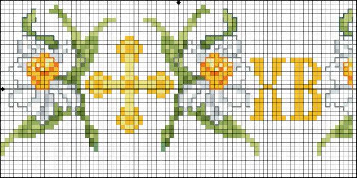 Схемы для плетения писанок из бисера
