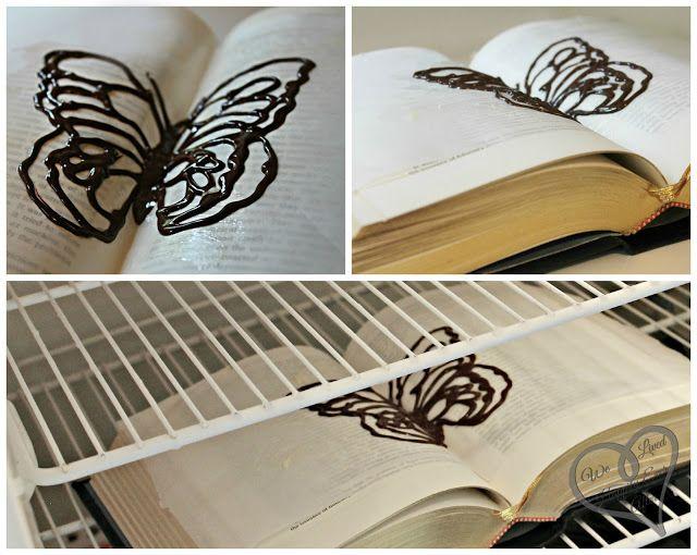 Шоколадні метелики на торт 2