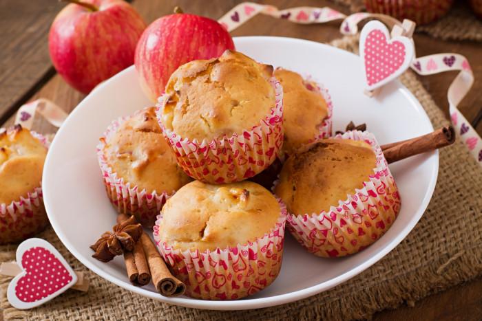 Рецепт мафінів з яблуками