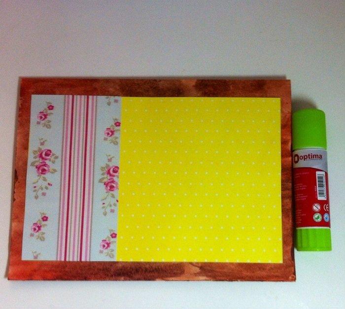 Скрапбукінг, майстер клас: листівка з днем народження своїми руками. Фото 6