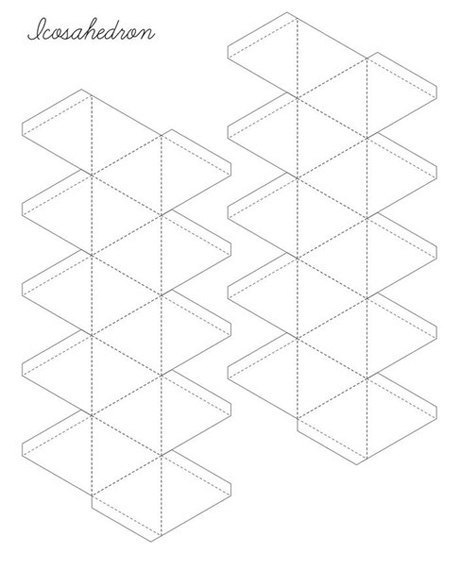 Схема Ікосаедра