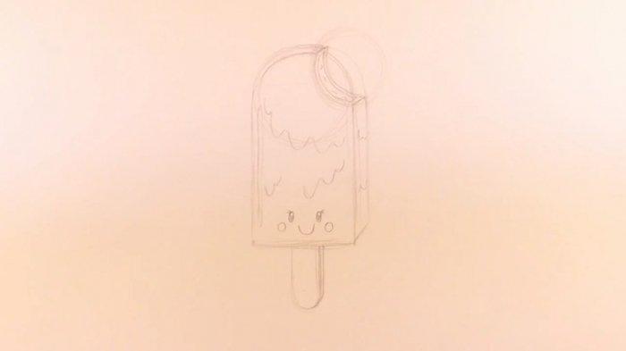 Як намалювати морозиво
