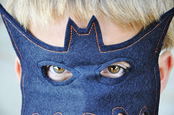 Маска Бэтмена своими руками, фото 4