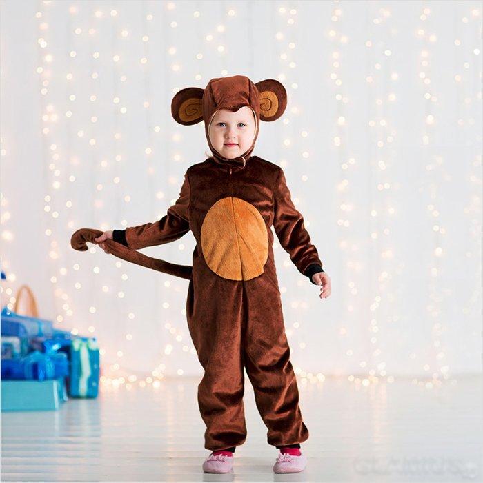 Костюм мавпочки на Новий рік для хлопчика
