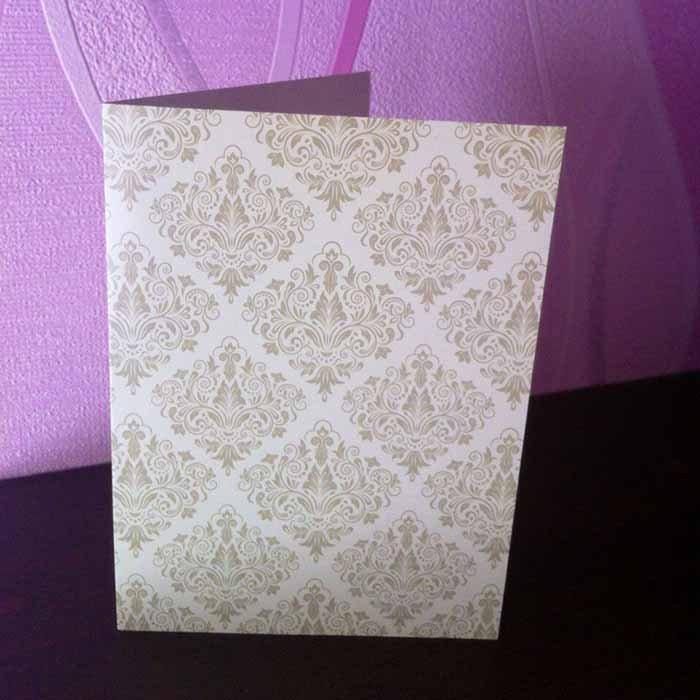 Простая скрап-открытка своими руками - фото 2