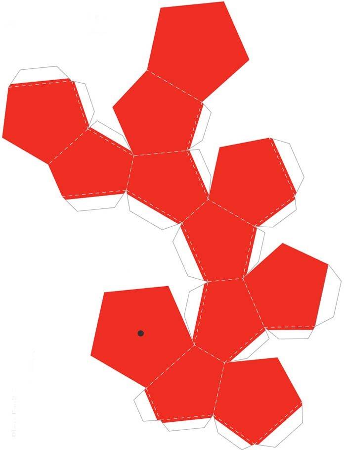 Объемные поделки из бумаги. Шаблоны фруктов для объемной аппликации, фото 7