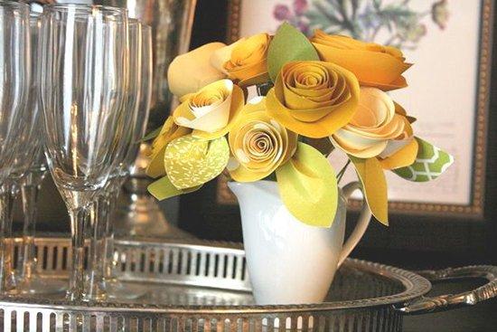 Розы из бумаги - фото 2