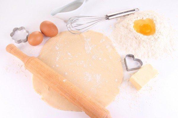 Печенье на день Святого Валентина, фото приготовления
