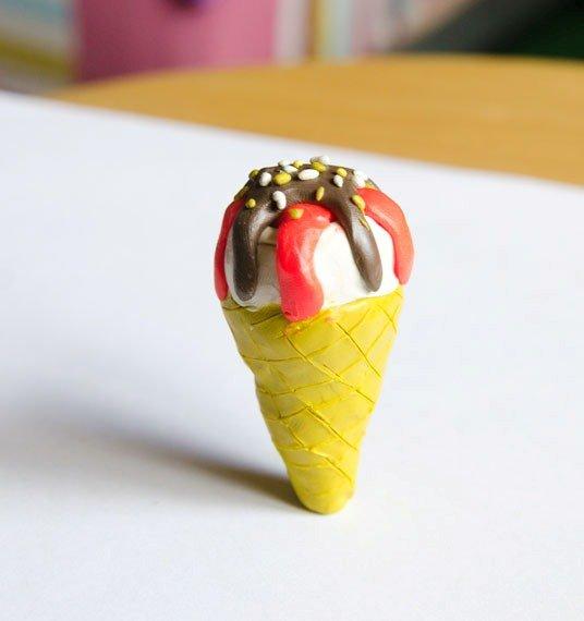 Мороженое из пластилина. Пошаговый урок лепки