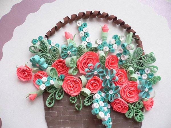 троянди з квілінгу фото 3