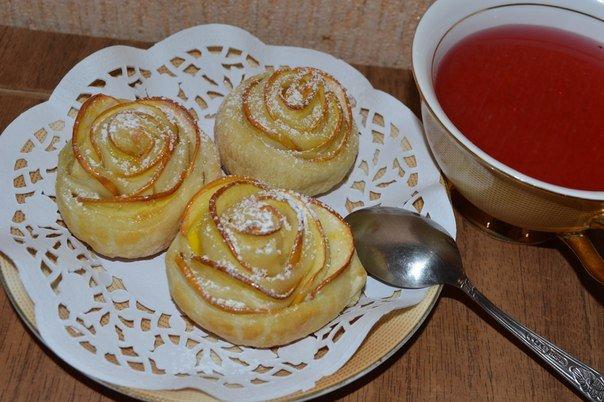 Солодка випічка з готового листкового тіста - фото 6