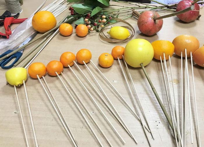 Букет із фруктів