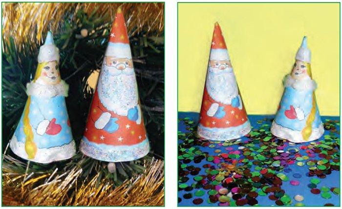 Делаем новогодние поделки из бумаги, фото 6
