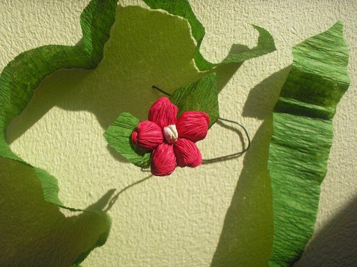 Букет квітів з гофрованого паперу своїми руками - фото 15
