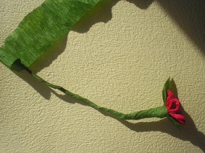Букет квітів з гофрованого паперу своїми руками - фото 17