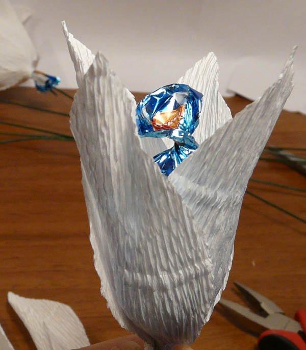 Букет из конфет своими руками, фото 8