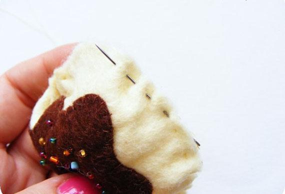 Как сделать мороженое из фетра, фото 6