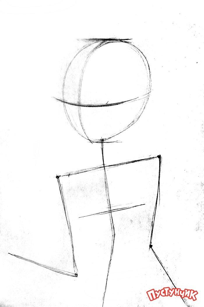 Как рисовать фею Блум из Винкс - фото 1