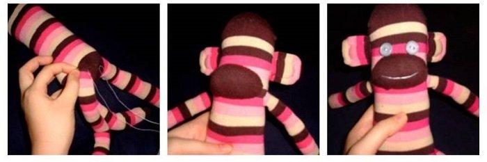 Игрушка-обезьянка своими руками, фото 17