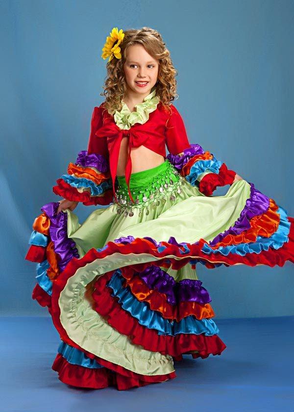 Новогодние костюмы для девочек, фото 4