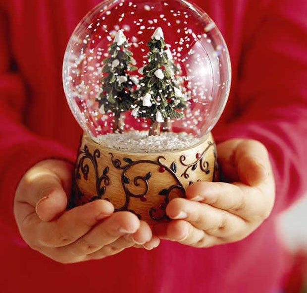 Снігова куля своїми руками, фото 1