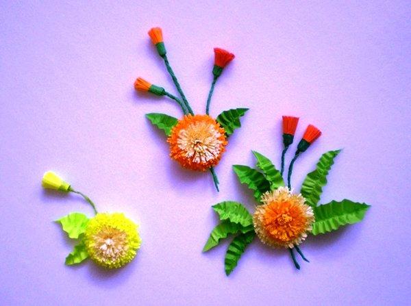Цветы в технике квиллинг фото 8
