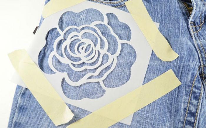 Як розмалювати джинси
