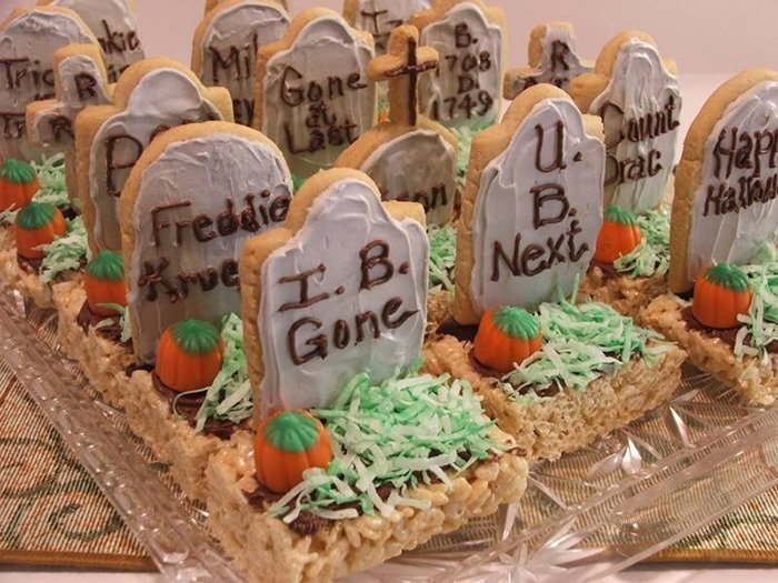 Рецепты на Хеллоуин
