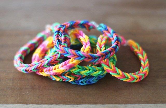 Плетение из резинок, мастер-класс для новичков