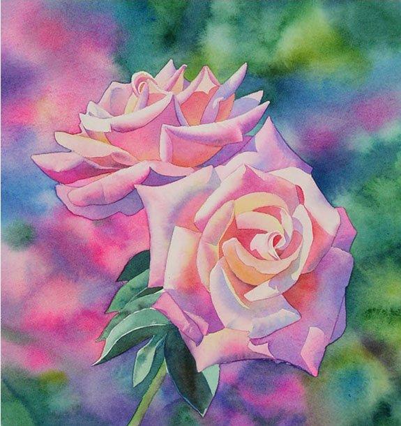 Как нарисовать розу шаг за шагом – схема, фото 22