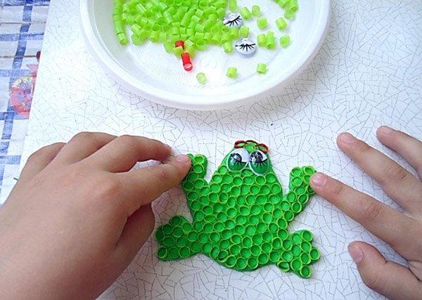 Яскраві літні саморобки з дітьми своїми руками - трубочки, фото 4