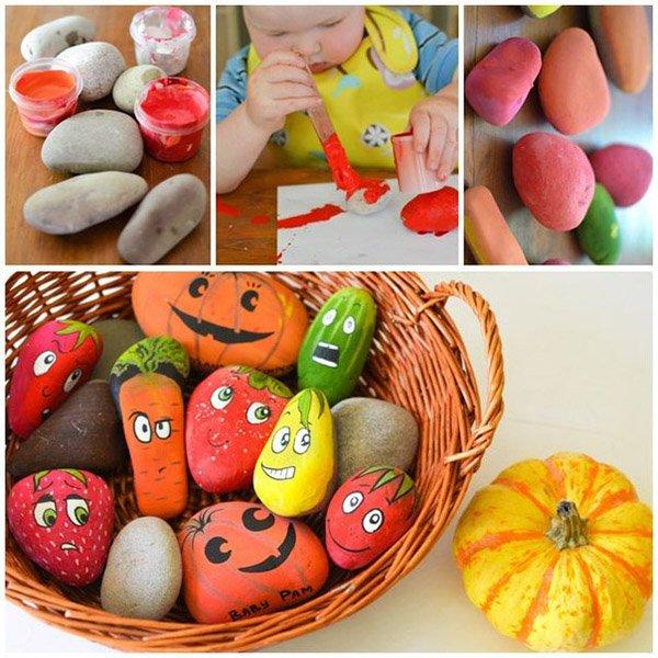 Яскраві літні саморобки з дітьми своїми руками - камінці, фото 3