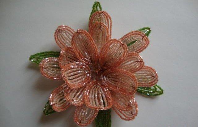 Лилии из бисера, схемы плетения - фото 9