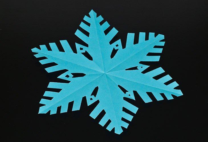 Снежинка своими руками