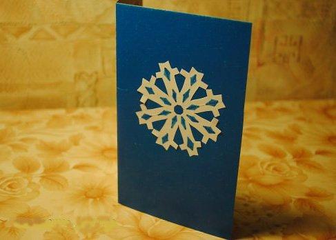 Новорічна листівка ялинка /открытка на Новый год своими руками из бумаги