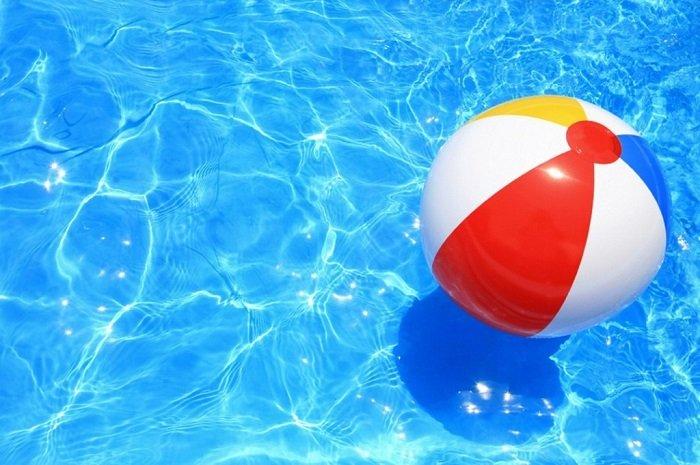 Активные детские игры на воде