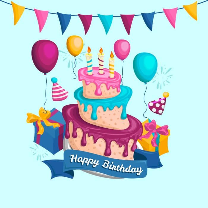 Короткое пожелание с днем рождения