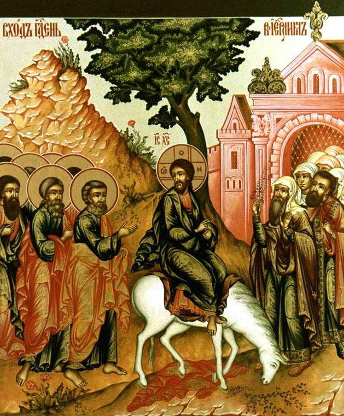 История праздника Вербное воскресение