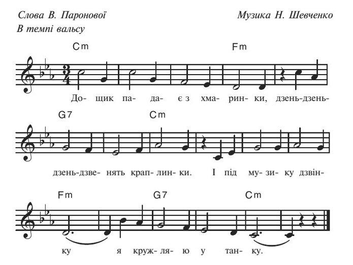 Сценарий осеннего бала для дошкольников, песня 6