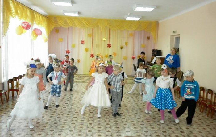 Сценарій осіннього балу для дитячого садка, фото 9