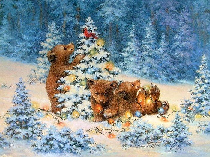 Детские песенки про зиму
